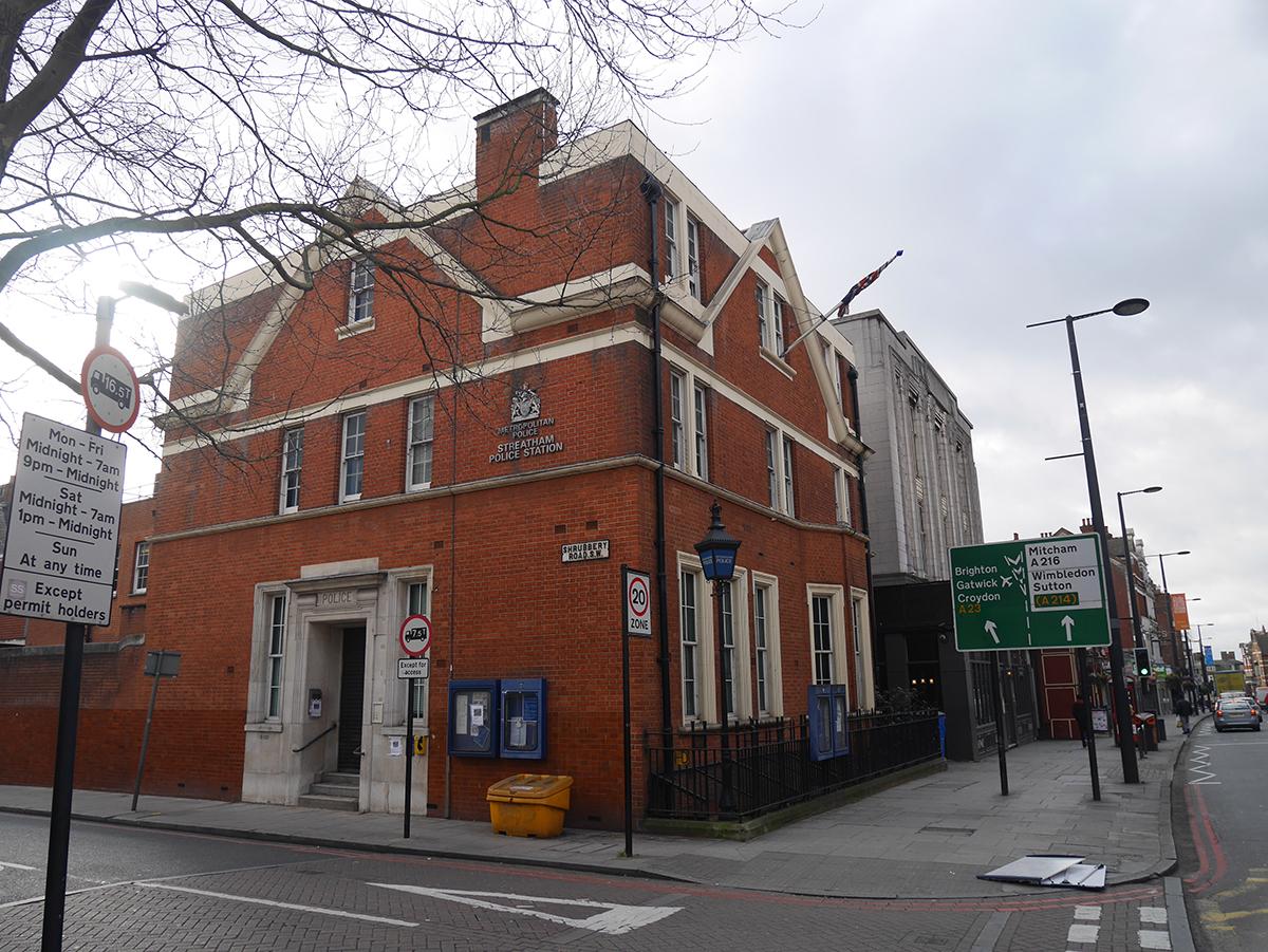 Former Streatham Police Station, SW16